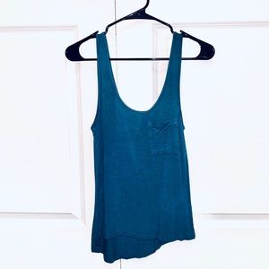 FOREVER 21 Blue Tank Top Size Small